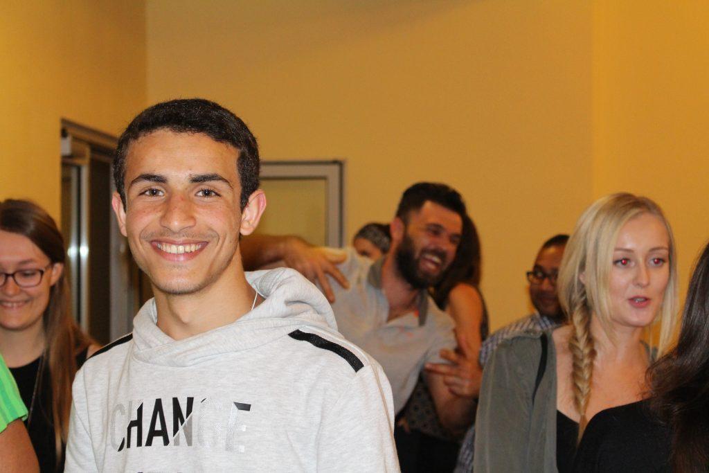 Studenten auf einer Feier
